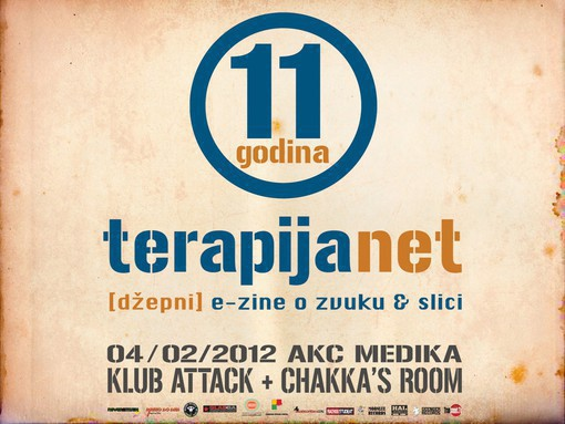 terapija.net 11th birthday party poster
