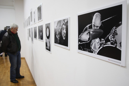 "Opening of group photography exhibition ""Monochrome world"" in Belgrade"