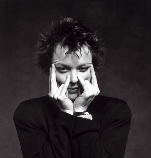 Laurie Anderson by Guido Harari